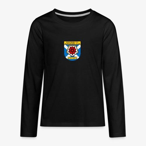 Montrose FC Supporters Club - Teenagers' Premium Longsleeve Shirt