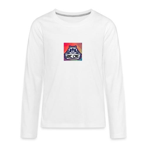 bcde_logo - Teenager Premium Langarmshirt