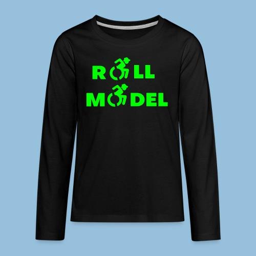 RollModel5 - Teenager Premium shirt met lange mouwen