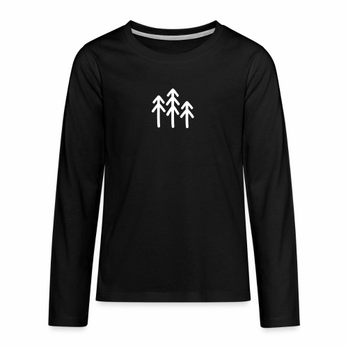 RIDE.company - just trees - Teenager Premium Langarmshirt