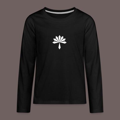 GBIGBO zjebeezjeboo - Rock - Fleur - T-shirt manches longues Premium Ado