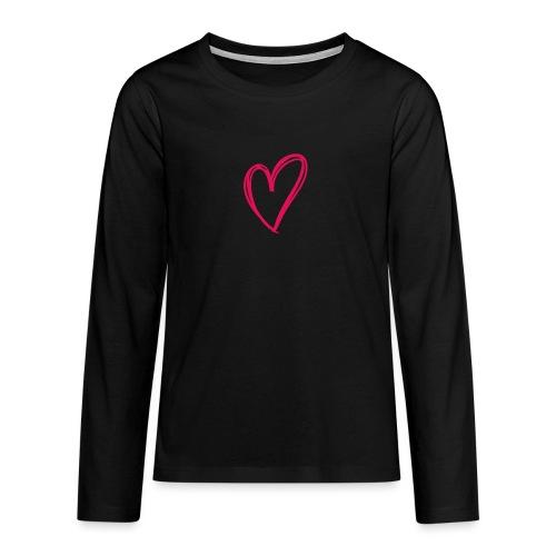 hartje03 - T-shirt manches longues Premium Ado
