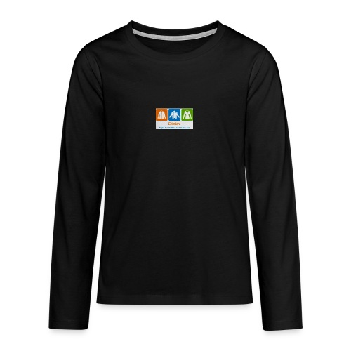 IMG 3596 - Teenager premium T-shirt med lange ærmer