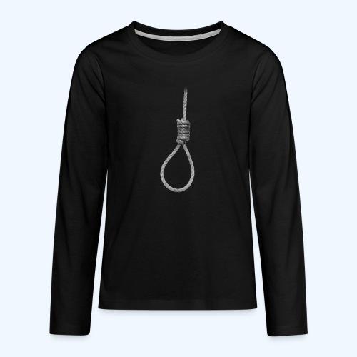 Noose - Teenagers' Premium Longsleeve Shirt