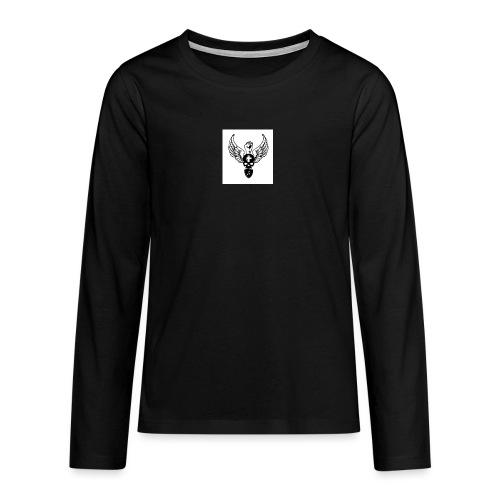 Power skullwings - T-shirt manches longues Premium Ado