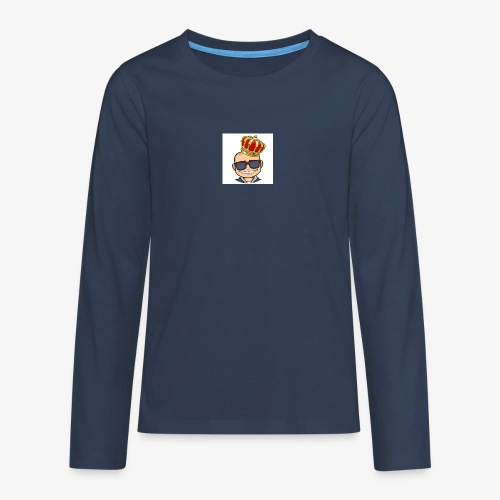 My king - Långärmad premium T-shirt tonåring