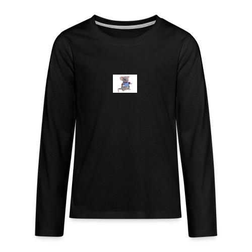 rotte - Teenager premium T-shirt med lange ærmer