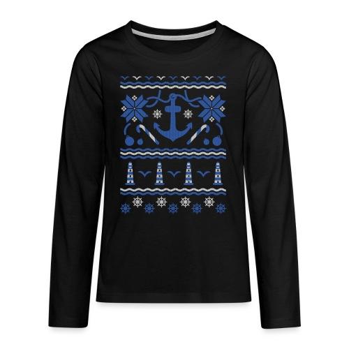 Baltic Christmas - Teenager Premium Langarmshirt