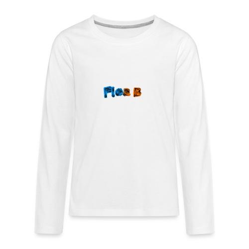 Flea_BMerchClear - Teenagers' Premium Longsleeve Shirt