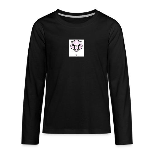 Tigeren fra junglen - Teenager premium T-shirt med lange ærmer