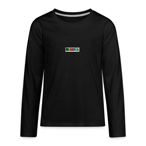 cooltext206752207876282 - Camiseta de manga larga premium adolescente