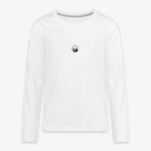 logo de l'eglise - T-shirt manches longues Premium Ado