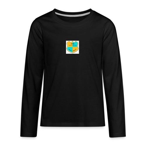 STG Vienna Kickers Logo - Teenager Premium Langarmshirt