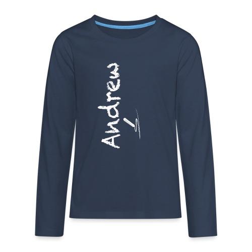 gessetto lest1 png - Maglietta Premium a manica lunga per teenager