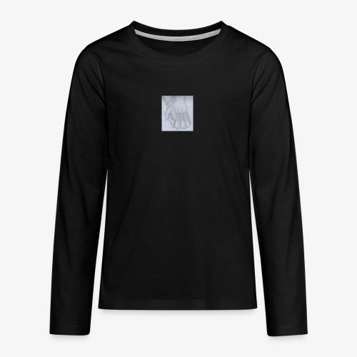 main dans la main - T-shirt manches longues Premium Ado
