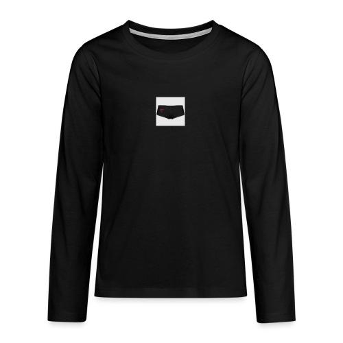 160369103 width 300 height 300 appearanceId 2 back - Teenager premium T-shirt med lange ærmer