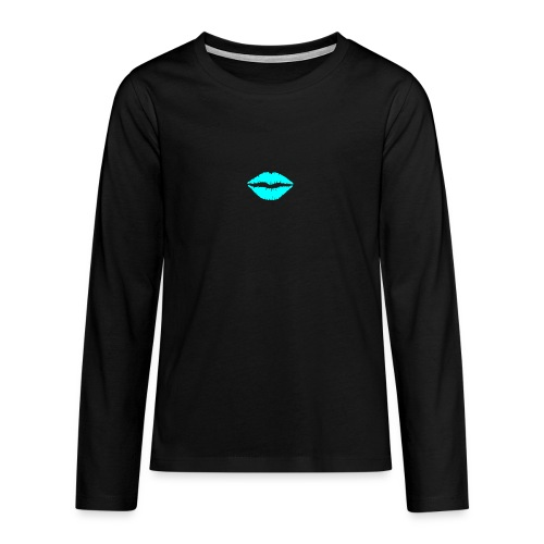 Blue kiss - Teenagers' Premium Longsleeve Shirt