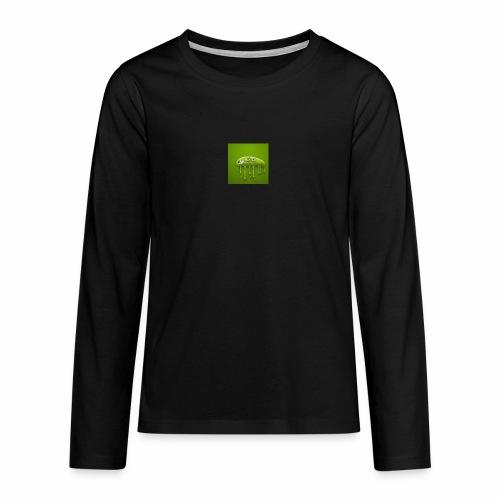 Raksos Logo - Teenager premium T-shirt med lange ærmer