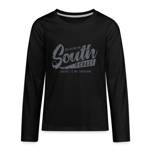 South Coast Sea surf clothes and gifts GP1305B - Teinien premium pitkähihainen t-paita