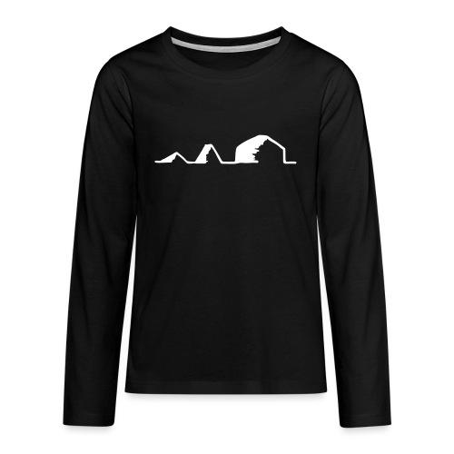 Schwarzzeltevolution - Teenager Premium Langarmshirt