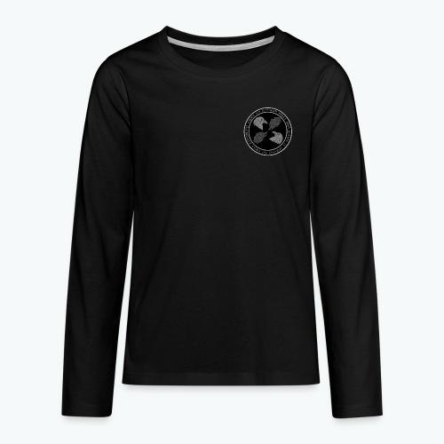 Odins Krieger Innen Logo - Teenager Premium Langarmshirt