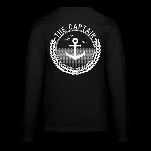 The Captain - Anchor - Teenager Premium Langarmshirt