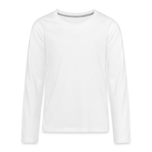 logo miekallinen vastaväri - Teinien premium pitkähihainen t-paita