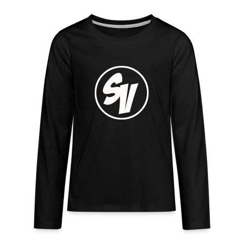 Design shirt png - Teenager Premium shirt met lange mouwen