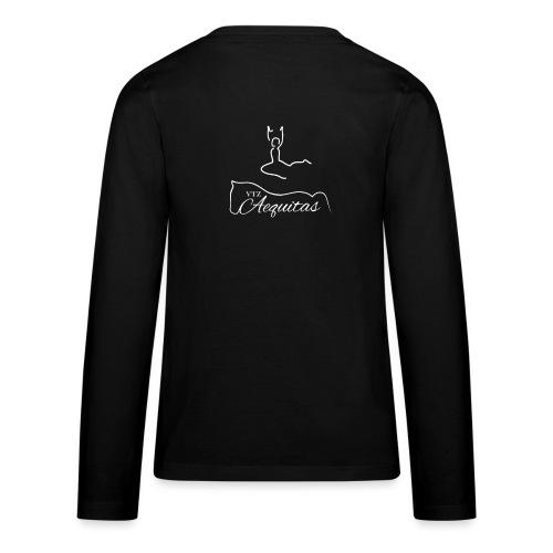 VT Aequitas white png - Teenager Premium Langarmshirt