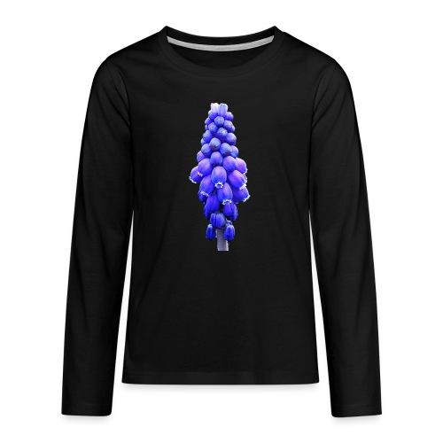 TIAN GREEN Garten - Traubenhyazinthe 2020 01 - Teenager Premium Langarmshirt