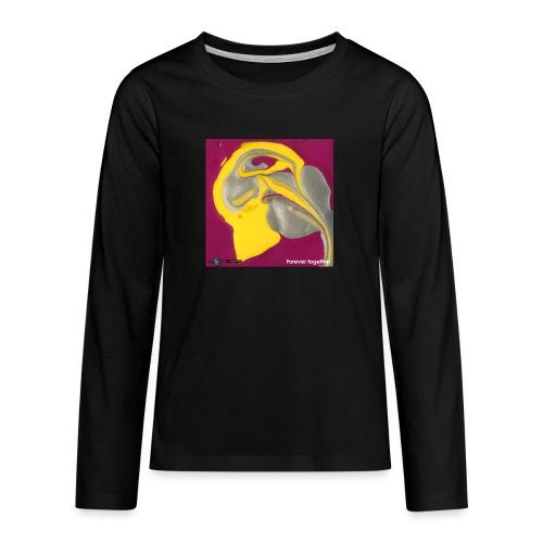 TIAN GREEN Welt Mosaik - CH071 Forever together - Teenager Premium Langarmshirt
