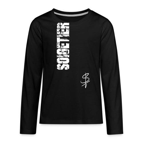 logo st - Teenager Premium Langarmshirt