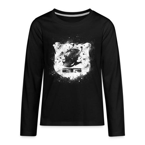 logoEcussonBlanc - T-shirt manches longues Premium Ado