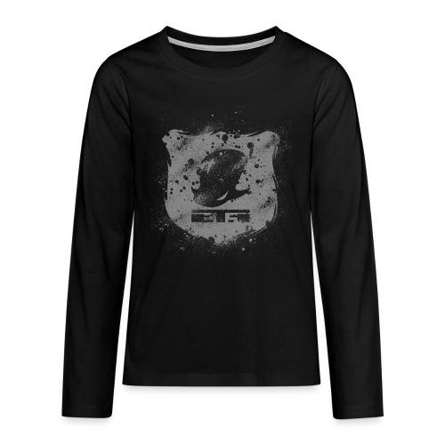logoEcussonGrisClair - T-shirt manches longues Premium Ado