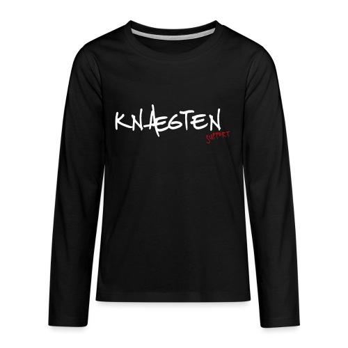 Knægten Support - Galaxy Music Lab - Teenager premium T-shirt med lange ærmer