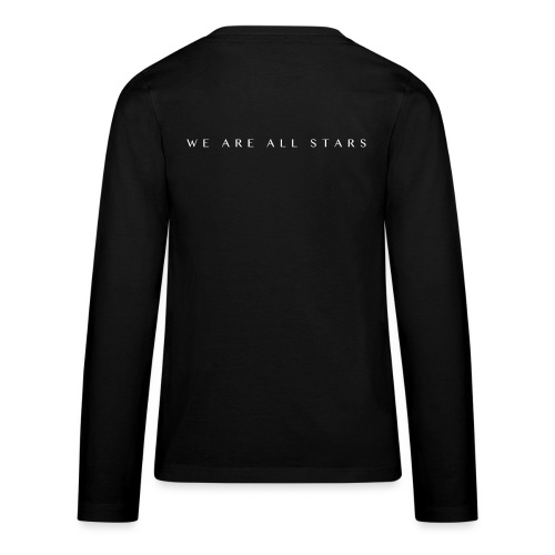 Galaxy Music Lab - We are all stars - Teenager premium T-shirt med lange ærmer
