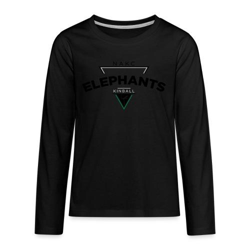 Triangle - T-shirt manches longues Premium Ado