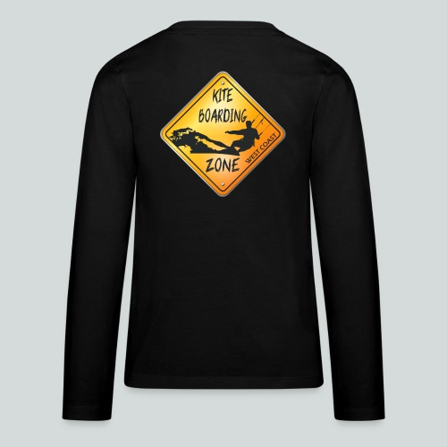 KITEBOARDING ZONE WEST COAST - T-shirt manches longues Premium Ado