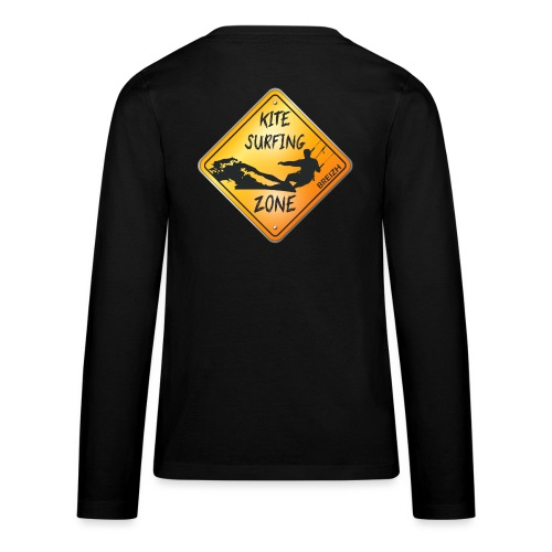 KITESURFING ZONE BREIZH - T-shirt manches longues Premium Ado