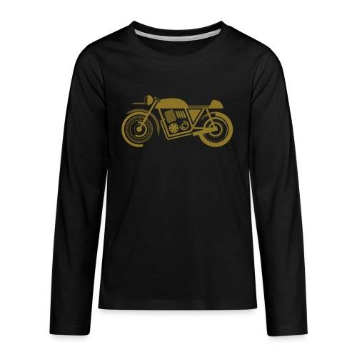 wk motor motor groot - Teenager Premium shirt met lange mouwen