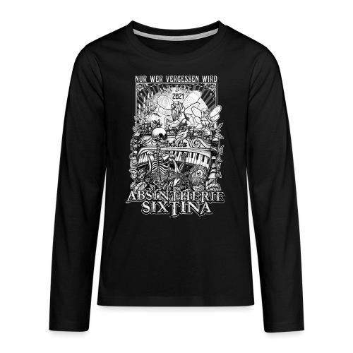 Absintherie Sixtina 2021 - Sixtina Support - Teenager Premium Langarmshirt