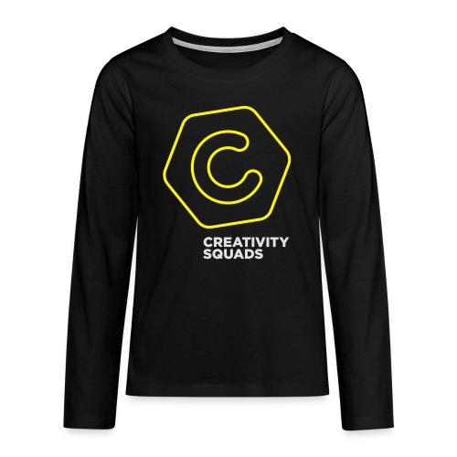 CS Hoodie Pink Unisex - Teinien premium pitkähihainen t-paita