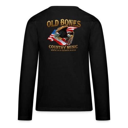Old Bones LOGO - Teenager Premium Langarmshirt