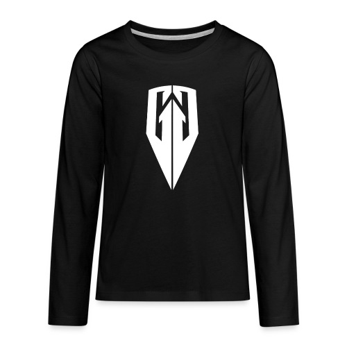 Kingdom Customs Shop Tee Womens - Teenagers' Premium Longsleeve Shirt
