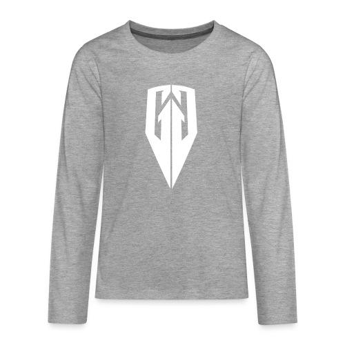Kingdom Customs Shop Tee Womens - Teenagers' Premium Longsleeve Shirt