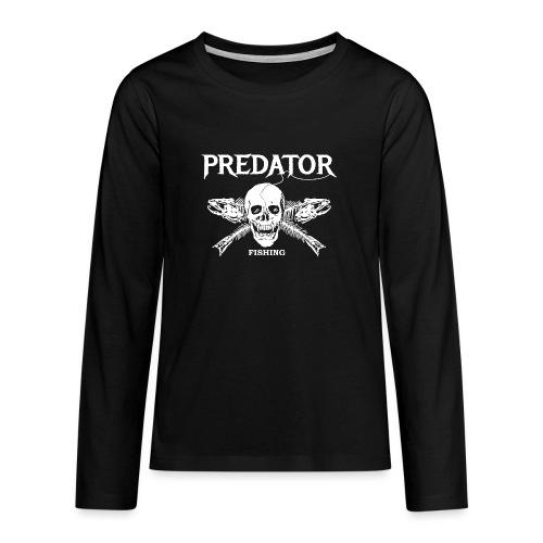 Predator Fishing T-Shirt - Teenager Premium Langarmshirt