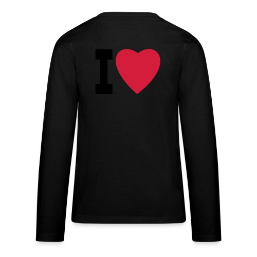 create your own I LOVE clothing and stuff - Teenagers' Premium Longsleeve Shirt