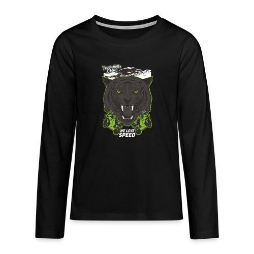 T-Shirt Bear Powershifter - Teenager Premium Langarmshirt