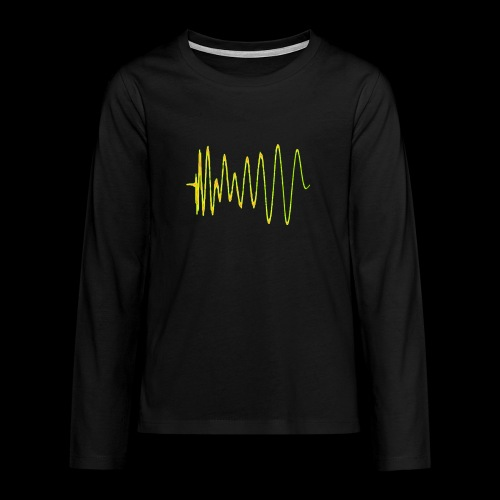 Boom 909 Drum Wave - Teenagers' Premium Longsleeve Shirt