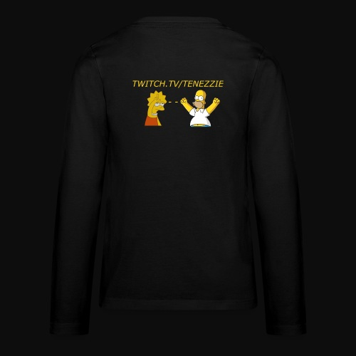 Tenezzie fan - Teenager premium T-shirt med lange ærmer